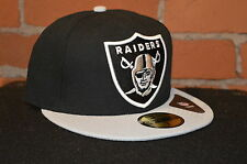 Oakland Raiders Black & Team Colours  Nfl 5950 Fitted cap