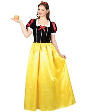Ladies Sexy Snow White Princess Fairytale Outfit Fancy Dress Costume