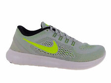 WOMENS NIKE FREE RN RUN RUNNING SHOES TRAINERS PURE PLATINUM / BLACK / WOLF GREY