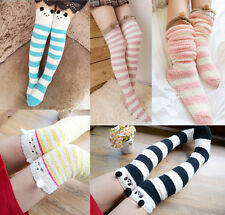 Amazing Socks Over Knee Cute Animal Novelty Fluffy Socks Warm Soft Cosy