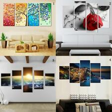 Modern Hand-painted Canvas Painting Art Picture Wall Hanging Craft Unframed Deco