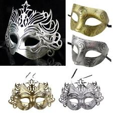 Men Venetian Eye Mask Masquerade Halloween Carnival Parties Ball Mask-- 4 Types