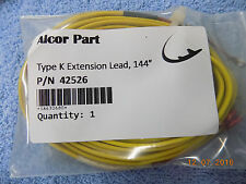 New Alcor PN# 42526 EGT Type K Extension Lead, 144″