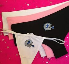 * DETROIT LIONS Womans SEXY THONG or CHEEKY Boyshort Panties Underwear NFL Charm