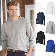 Hanes Mens ComfortSoft Heavyweight Cotton Long Sleeve T Shirt S-3XL - 5286