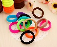 Cute Girl Candy Color PonyTail Elastic Hair Bands Tie Rope Ring Ponytail Holder