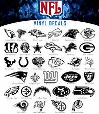NFL Football Sport Teams  Logo Vinyl Decal Sticker Car Window Wall League