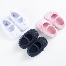Sweetn Princess Toddler Newborn Kids Baby Girl Soft Cotton Lace Shoes Prewalker