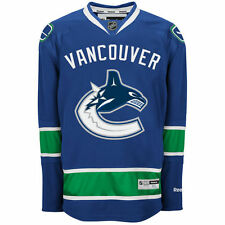 Reebok Vancouver Canucks Men's Premier Home Jersey - Blue - NHL