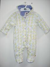 BNWT M&S Baby Girls (Jersey) Snowsuit Age Up to 3 Months