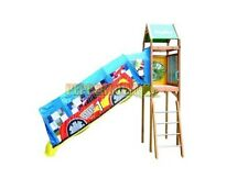 Slide Canopy Sunshade Cubby House Playground Fort Tree Car Soccer Boat Princess