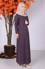 Sefamerve Purple Hijab Dress