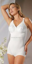 Women Ladies Lace Cup Corselette by Naturana White Size 36 - 44 Cup: B - E 83208