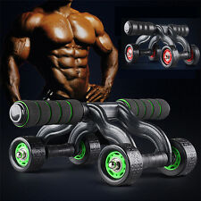 Sports Fitness Four-Wheels Power Roller Abdomen Exercise Wheels Equipment Muscle