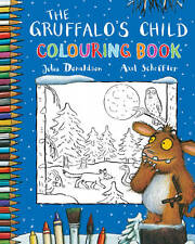 The Gruffalo's Child Colouring Book NEW BOOK by Julia Donaldson (Paperback 2012)