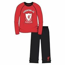 Boys Official Liverpool FC Football Pyjamas Kids Age 4 - 12 Years