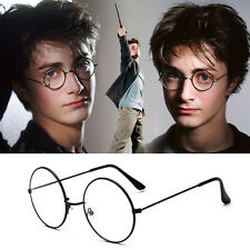 Women Men Retro Fashion Clear Lens Glasses Round Overall Eyewear Eyeglasses h