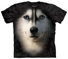 Siberian Face T-Shirt Black New Shirt Tee