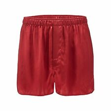 The Collection Mens Red Silk Boxers From Debenhams