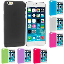 For Apple iPhone 6S Plus 5.5 Flexible Hard Ultra Thin Back Cover Case Frost