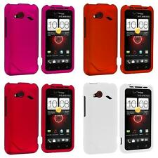 For HTC Droid Incredible 4G LTE Color Hard Snap-On Skin Case Cover Accessory