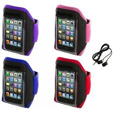 Gym Sports Armband Case Cover+Headphones for iPod Touch 4th 3rd 2nd Gen 4G 3G