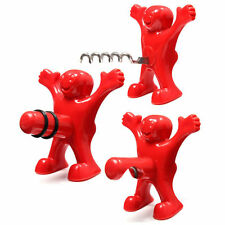 2016 Happy Man Soda Wine Bottle Beer Opener Stopper Corkscrew Plug Bar Home Tool
