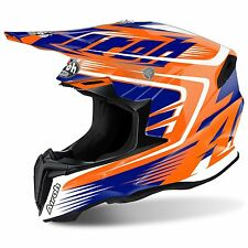 2017 Airoh Twist Motocross Helmet - Mix Orange
