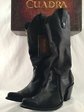WOMENS CUADRA AUTHENTIC LEATHER COWBOY BOOTS WESTERN WEAR BOTA DE RES *ALL SIZES