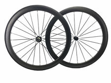dimple wheel 50mm Clincher 25mm width 700C carbon road wheels super light.