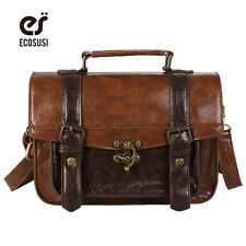 Women Briefcase Girl Handbags Leisure Satchel Leather Handbags Purses Bags