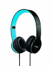 NEW Coby Folding Stereo Over Ear Headband Headphones Headset Clear Sound CVH-801