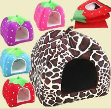 Hot Soft Pet Dog Cat Bed House Kennel Doggy Puppy Warm Cushion Basket Pad