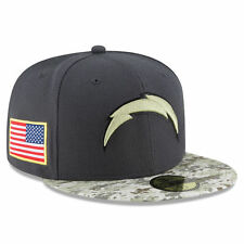 New Era San Diego Chargers NFL 16' 59FIFTY Fitted Hat - Graphite/Camo