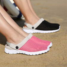 Hot Summer Mens Womens Casual Sandals Shoes Mesh Couples Beach Slippers Slip Ons