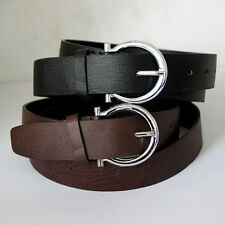 New Fashion Mens Casual Korean Style PU Leather Belts Pin Waistband Buckle Waist