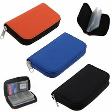 Memory Card Storage Carrying Case Holder Bag Wallet For CF/SD/SDHC/MS/DS Games