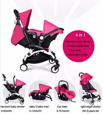 New Baby Stroller Carriage Car Seat 4 in 1High Landscape foldable pushchair&Car