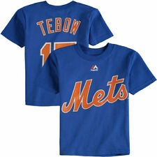 Majestic Tim Tebow New York Mets Toddler Royal Player Name & Number T-Shirt