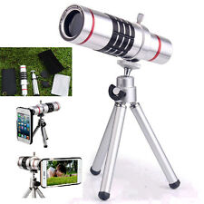 18X Zoom Telescope Camera Lens Tripod Case For iPhone 7 Plus Samsung Galaxy S7