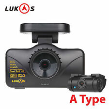 Lukas LK-7950 WD A Type 2CH Dual Full HD 1920x1080 Car Dash Camera Blackbox