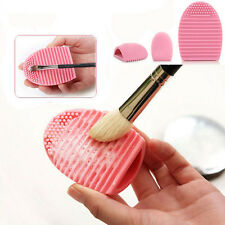 Portable Makeup Egg Brush Cleaner Silicone Finger Cleaner Brush Cleaning Tool