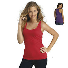 L222 Tank Top Fit top Neck V-Neck Ladies Tshirt T-Shirt Women sleeveless NEW