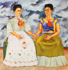Frida Kahlo The Two Fridas canvas print giclee 8X8&12X12 poster