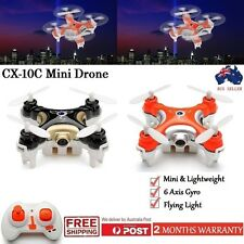 New Cheerson CX-10C Drone 2.4G 6-Axis Gyro Mini RC Quadcopter Drone With Camera
