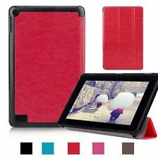 NEW PU Leather Folio Case Cover Skin Stand for Amazon Kindle Fire HD 7 8 10 2015