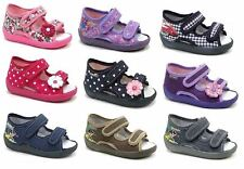 GIRLS CANVAS SHOES / TODDLER SLIPPERS SANDALS TRAINERS ALL UK BABY KIDS SIZES