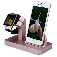 Dock Station Bracket Cradle Charging Stand Holder Charger For iPhone 6S 7 iWatch