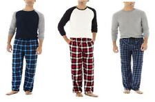 Stafford Mens Pajama Set 2 pieces plaid cotton polyester size XL XXL NEW