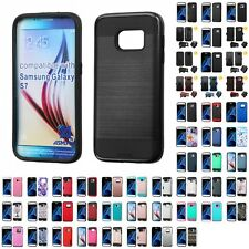 For Samsung Galaxy S7 Hybrid IMPACT Hard TUFF Hybrid Case Phone Cover